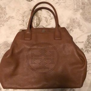 bfe507de5d2 Women s Tory Burch Perforated Logo Tote on Poshmark